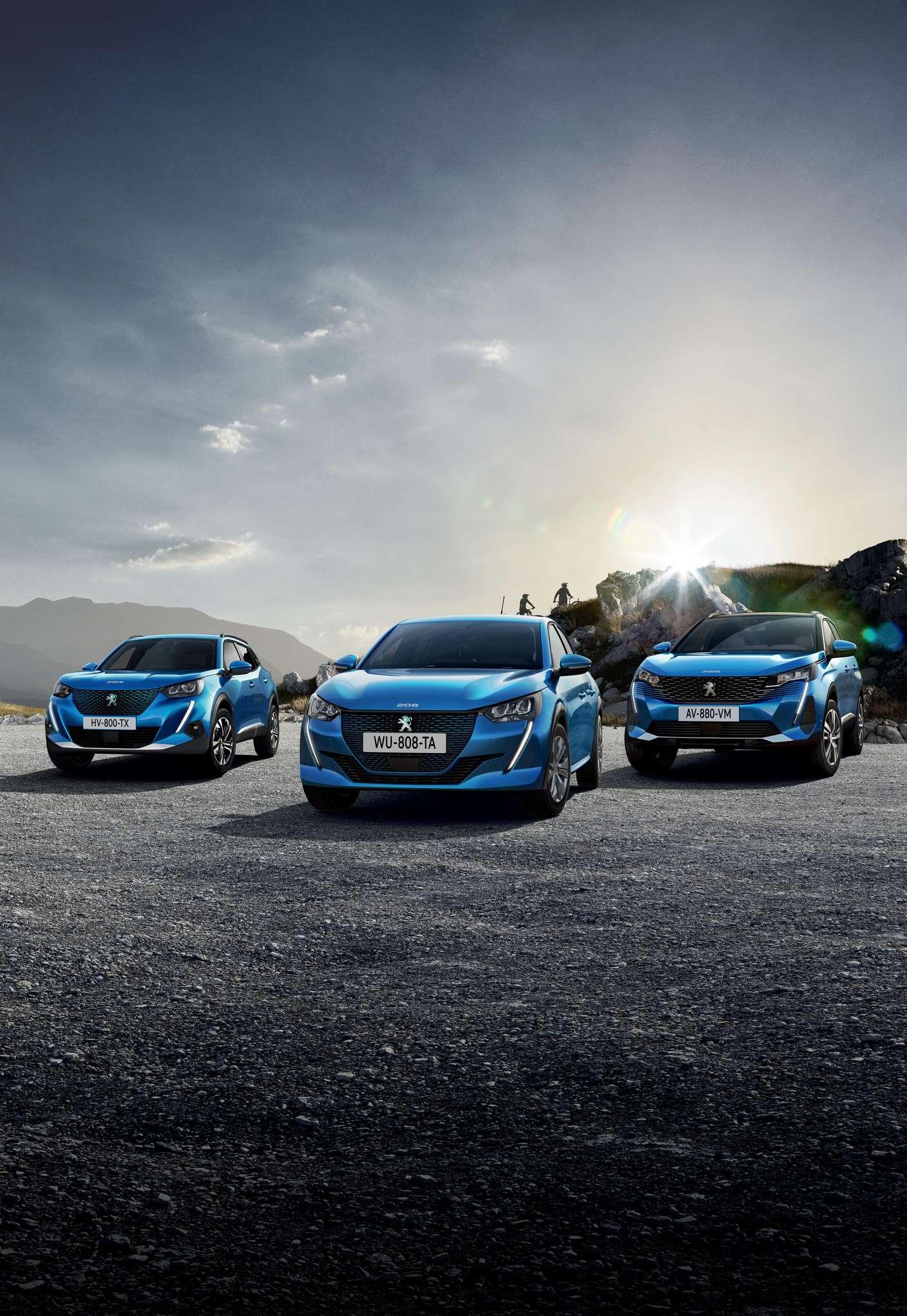Električna vozila Peugeot